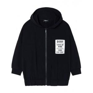 Black logo hoodie