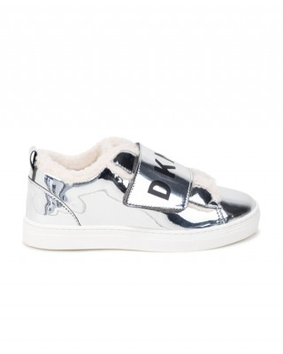 Patent leather sneakers
