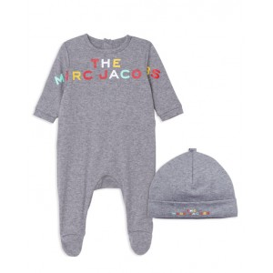 Grey cotton babygrow set
