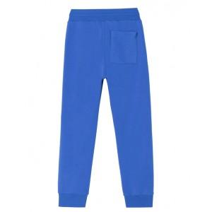 Blue logo joggers