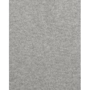 Cashmere blanket in grey