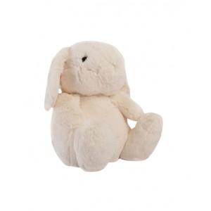 White cuddly rabbit