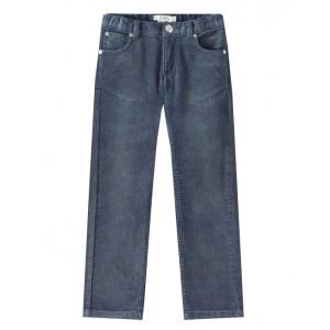 Corduroy pants in blue