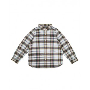 Checked shirt for boy