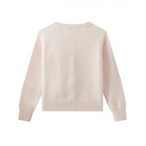 Cashmere cardigan in light pink
