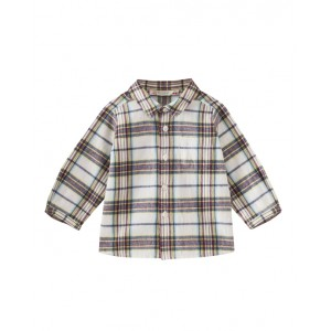 Checked shirt for baby boy