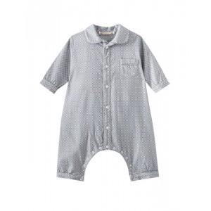Baby boy blue gray pajamas