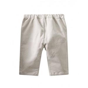 Corduroy pants ecru