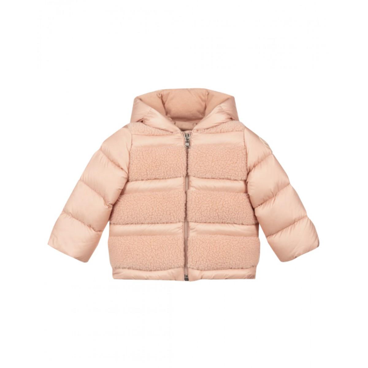 Pink down puffer jacket