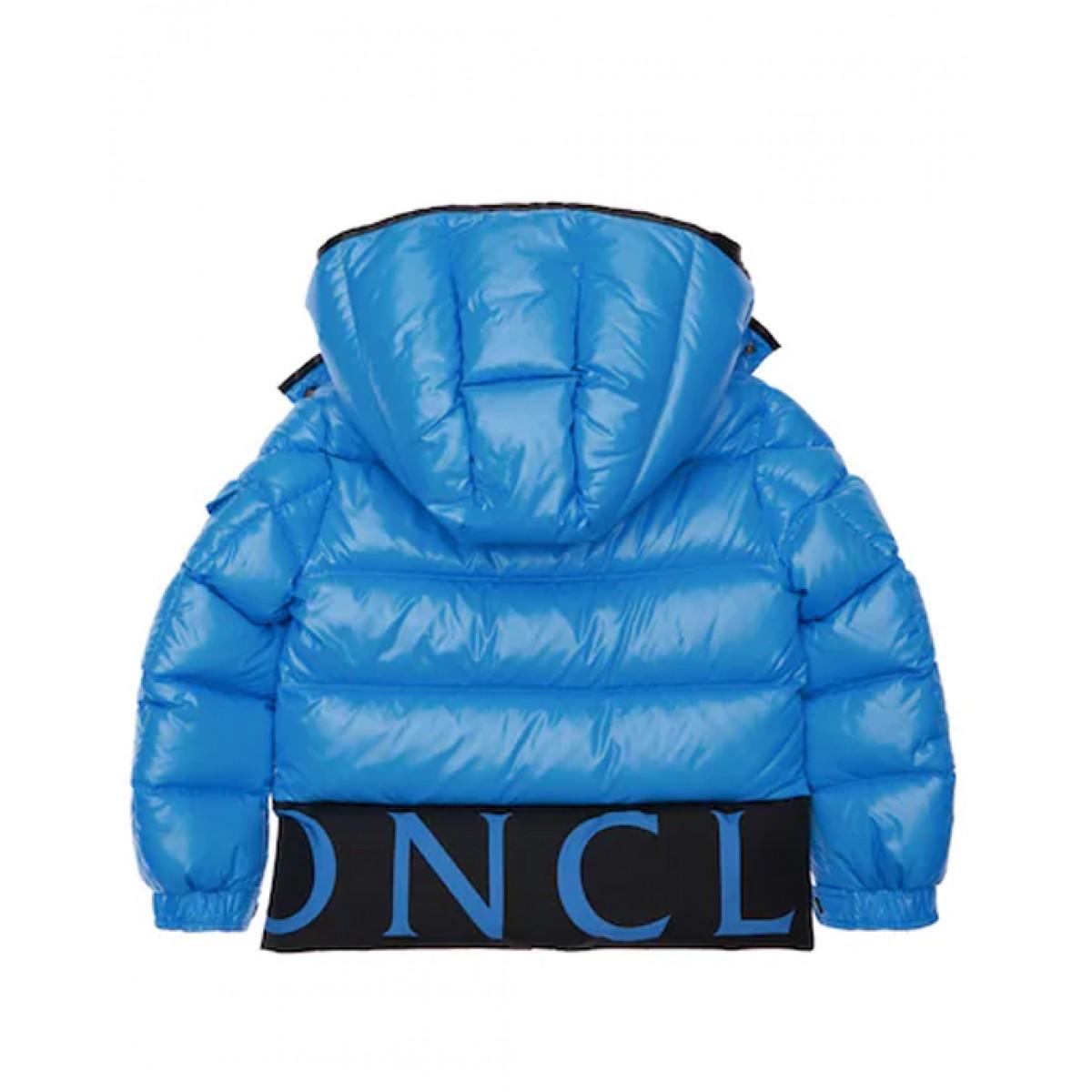 Down logo puffer jacket