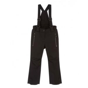 Black ski trousers