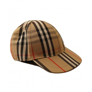 BURBERRY Icon stripe Baseball cap