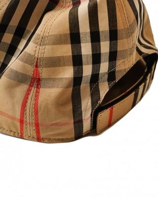 BURBERRY Icon stripe Baseball cap