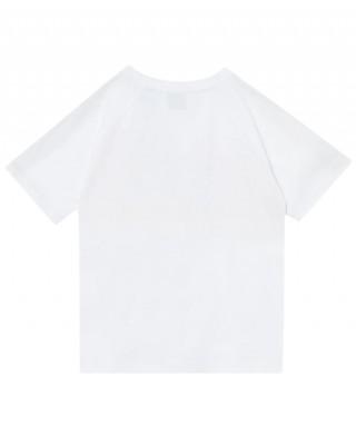 BURBERRY Logo stripe T-shirt