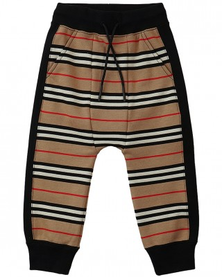 BURBERRY Icon Striped joggers