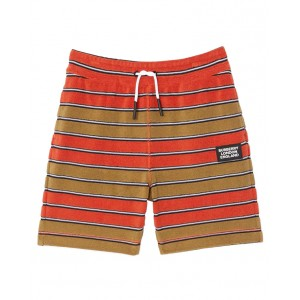 BURBERRY Logo patch shorts