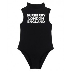 BURBERRY Swimsuit with logo print