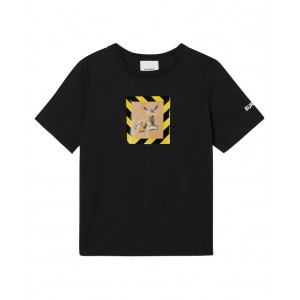 BURBERRY Two-side deer printed T-shirt