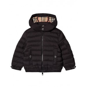BURBERRY Black Kohen puffer jacket
