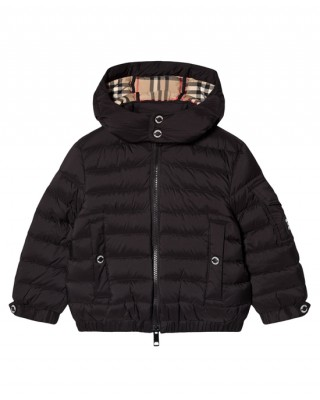 Black Kohen puffer jacket