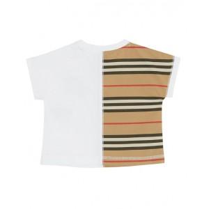 BURBERRY Icon Stripe paneled T-shirt