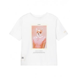 BURBERRY Cindy dog print T-shirt