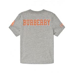 BURBERRY Bulldog print cotton T-shirt