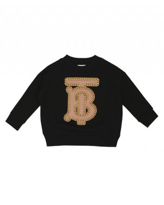 Chain TB monogram sweatshirt