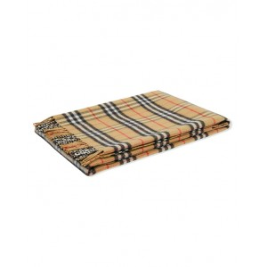 BURBERRY Merino wool Vintage check blanket