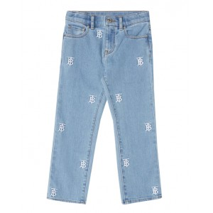 Denim Jeans with monogram motif