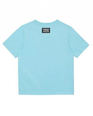 Cotton T-shirt with Thomas bear print