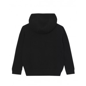 Cashmere hooded top with TB monogram
