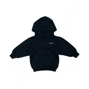 Logo print hooded sweatshirt