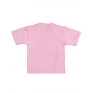 Pink languages cotton t-shirt
