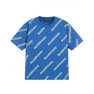 All over logo print cotton t- shirt