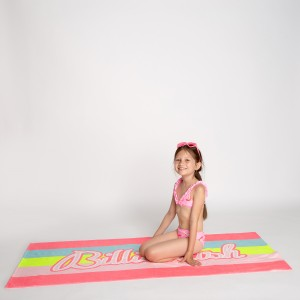 Pink bikini with dolphins print