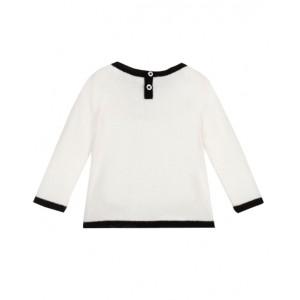 BONPOINT  Cashmere sweater in milk white
