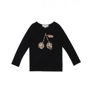 BONPOINT Long sleeve blouse in black