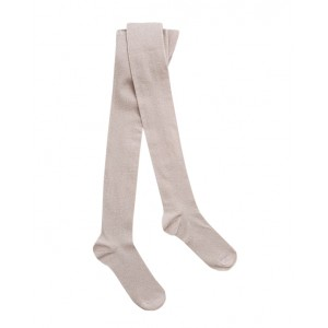 Cotton blend tights pale pink