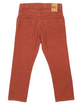 BONPOINT Corduroy trousers in chestnut