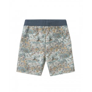 Boys shorts with floral print