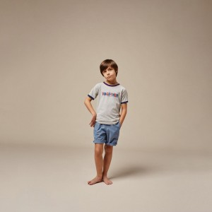 Boys cotton shorts ink