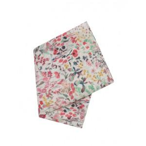 Girls' flower print scarf