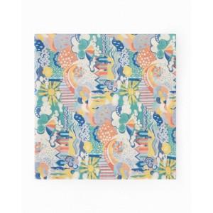 Girls' multicolor print scarf