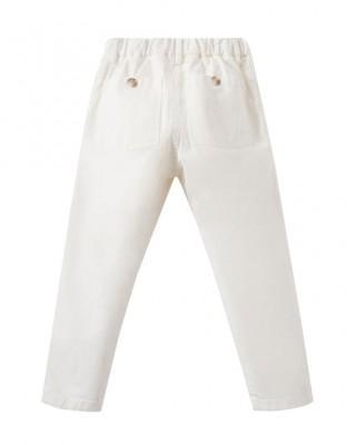 Girls' white jeans
