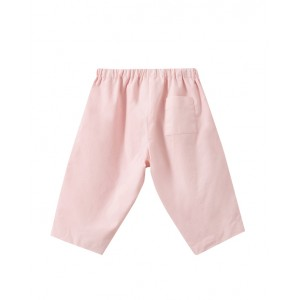 Baby pants in pale pink