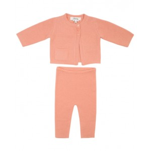 BONPOINT Two-piece set in peach - Top and leggings