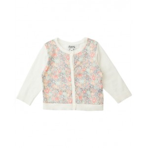 BONPOINT Cardigan with flower motif