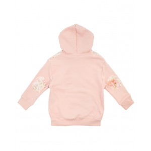 BONPOINT Hoodie with floral motif details