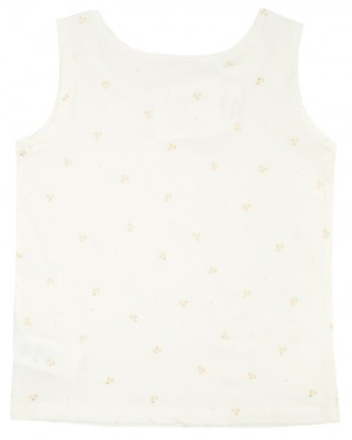BONPOINT Tank top with gold pattern